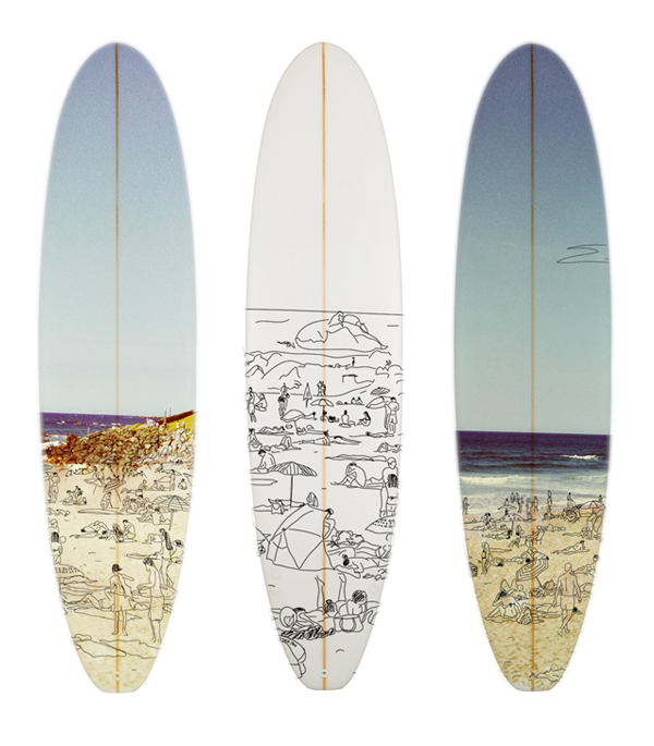 Planches de surf stephanie burgorgue - Planche de surf de decoration ...