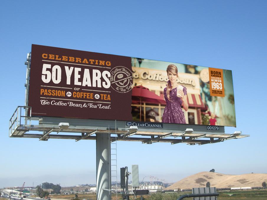 coffee bean 50th anniversary