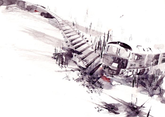 The Road - Lucy Eldridge Illustration