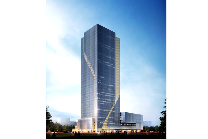office block design. Concept Design For Macalline Office Tower. Taiyuan, China - Joao Trigo Block I